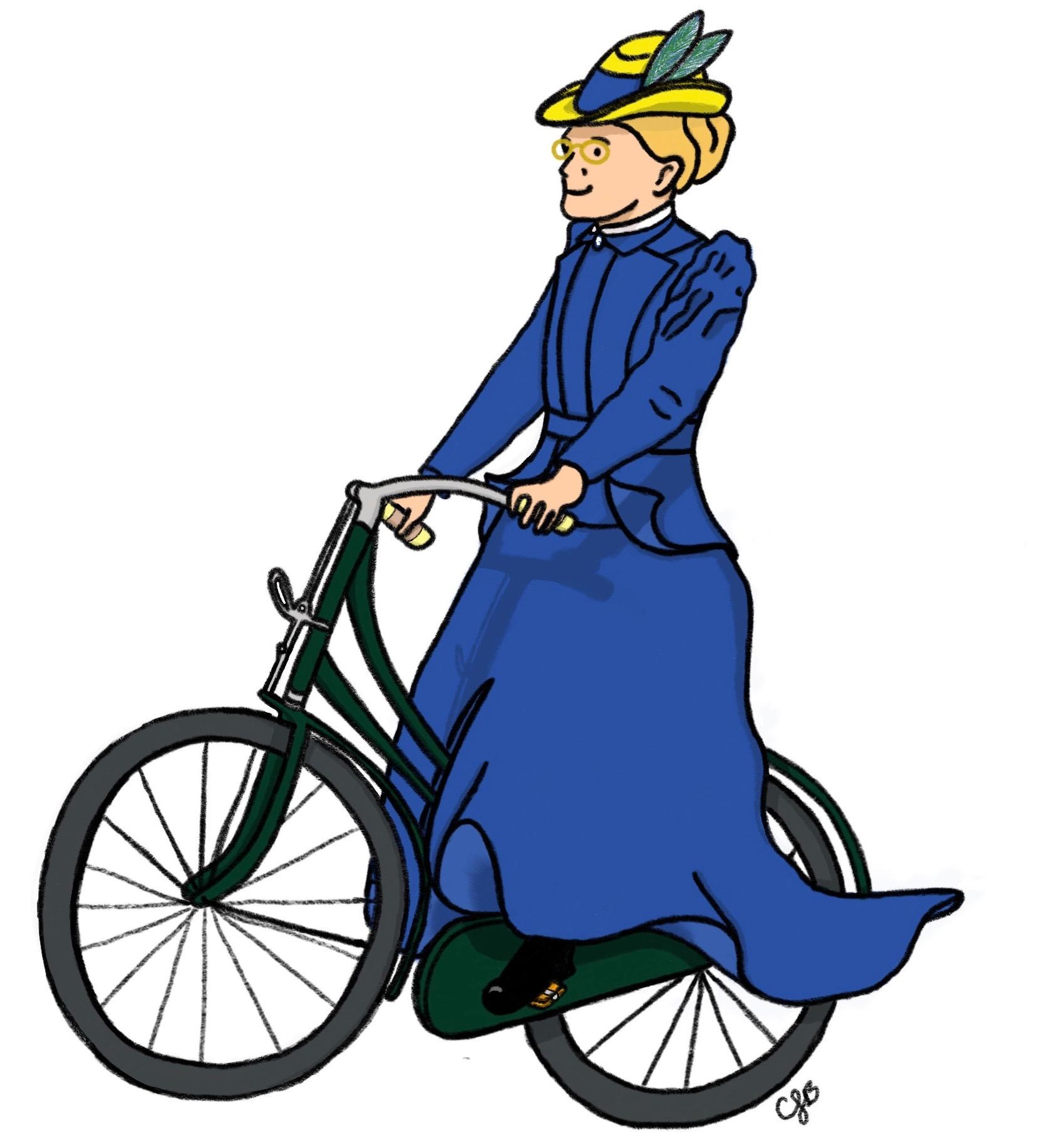 FEW on bicycle 2